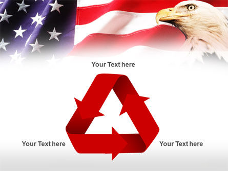 American Bald Eagle PowerPoint Template Slide 10