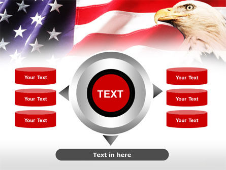 American Bald Eagle PowerPoint Template Slide 12