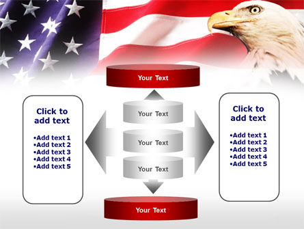American Bald Eagle PowerPoint Template Slide 13