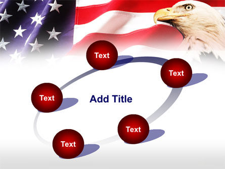 American Bald Eagle PowerPoint Template Slide 14