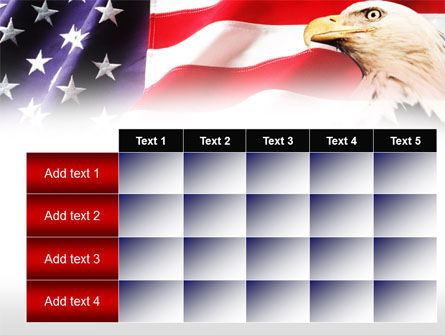 American Bald Eagle PowerPoint Template Slide 15