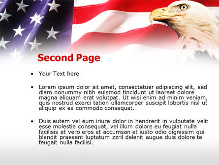 American Bald Eagle PowerPoint Template Slide 2