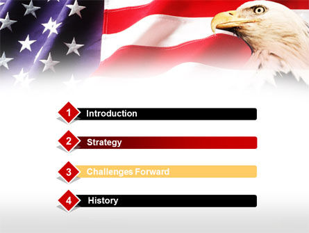 American Bald Eagle PowerPoint Template Slide 3