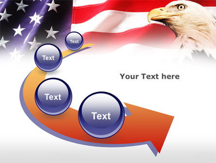 American Bald Eagle PowerPoint Template Slide 6