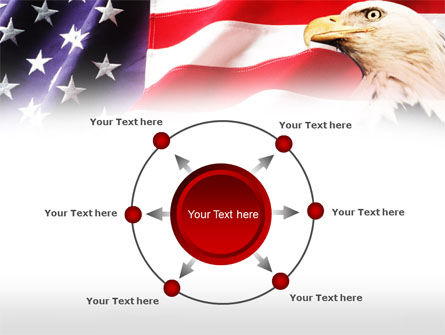 American Bald Eagle PowerPoint Template Slide 7