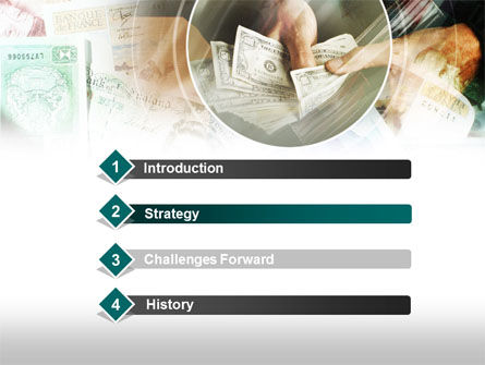 Payments In Cash PowerPoint Template, Slide 3, 00576, Financial/Accounting — PoweredTemplate.com