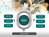 Payments In Cash PowerPoint Template#12