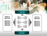 Payments In Cash PowerPoint Template#13