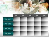 Payments In Cash PowerPoint Template#15