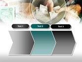 Payments In Cash PowerPoint Template#16
