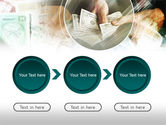 Payments In Cash PowerPoint Template#5