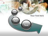 Payments In Cash PowerPoint Template#6