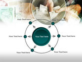 Payments In Cash PowerPoint Template#7