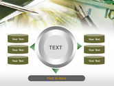 Business Financial Theme PowerPoint Template#12