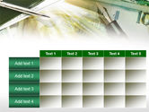 Business Financial Theme PowerPoint Template#15