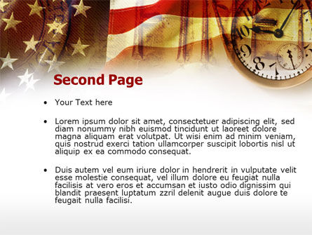 American History PowerPoint Template, Slide 2, 00578, Financial/Accounting — PoweredTemplate.com
