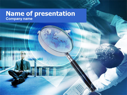 Business Search PowerPoint Template