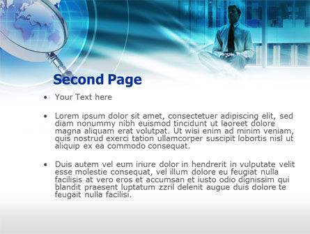 Business Search PowerPoint Template Slide 2