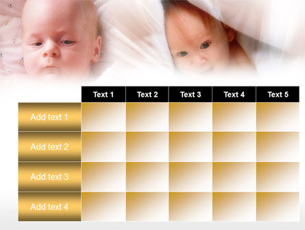 Infant PowerPoint Template Slide 15