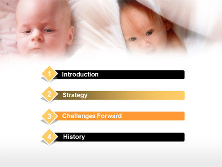 Infant PowerPoint Template, Slide 3, 00581, Education & Training — PoweredTemplate.com