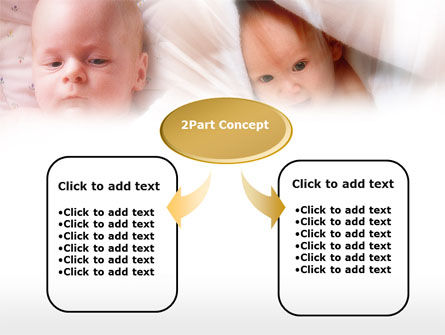 Infant PowerPoint Template, Slide 4, 00581, Education & Training — PoweredTemplate.com
