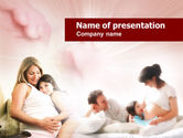 Consulting: Pregnant Mother PowerPoint Template #00582