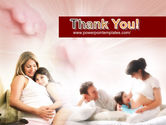 Pregnant Mother PowerPoint Template#20