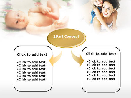 Caring for Baby PowerPoint Template, Slide 4, 00583, People — PoweredTemplate.com