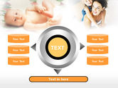 Caring for Baby PowerPoint Template#12