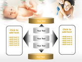 Caring for Baby PowerPoint Template#13