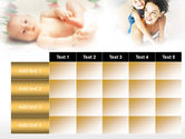 Caring for Baby PowerPoint Template#15