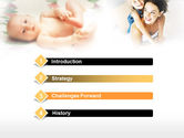 Caring for Baby PowerPoint Template#3