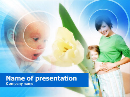 Waiting for Baby PowerPoint Template