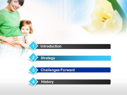 Waiting for Baby PowerPoint Template, Slide 3, 00584, Medical — PoweredTemplate.com