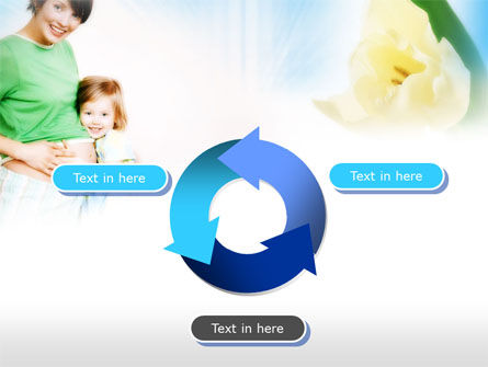 Waiting for Baby PowerPoint Template Slide 9