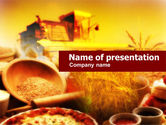 Agriculture: Harvest Days PowerPoint Template #00588