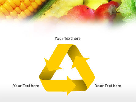 Corn and Apples PowerPoint Template Slide 10