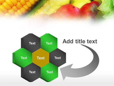 Corn and Apples PowerPoint Template Slide 11