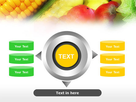 Corn and Apples PowerPoint Template Slide 12