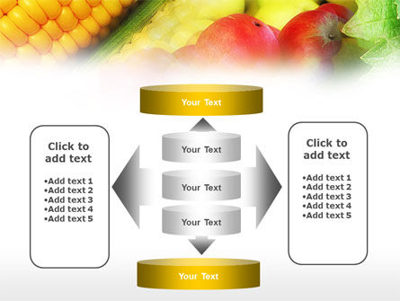Corn and Apples PowerPoint Template Slide 13
