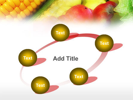 Corn and Apples PowerPoint Template Slide 14