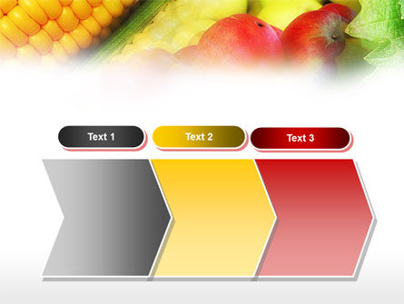 Corn and Apples PowerPoint Template Slide 16
