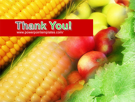 Corn and Apples PowerPoint Template Slide 20