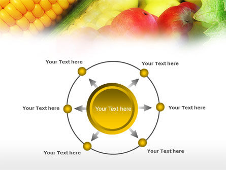 Corn and Apples PowerPoint Template Slide 7