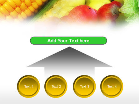 Corn and Apples PowerPoint Template Slide 8