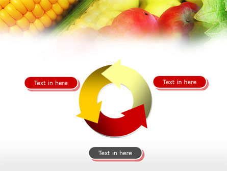 Corn and Apples PowerPoint Template Slide 9