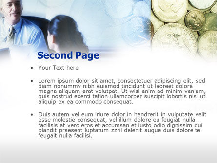 Banking Services PowerPoint Template, Slide 2, 00592, Financial/Accounting — PoweredTemplate.com