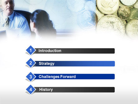 Banking Services PowerPoint Template, Slide 3, 00592, Financial/Accounting — PoweredTemplate.com