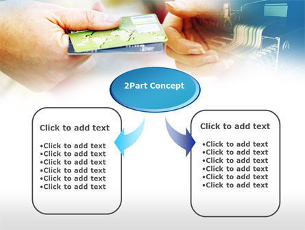 Credit Card PowerPoint Template, Slide 4, 00594, Technology and Science — PoweredTemplate.com