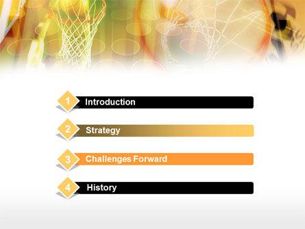 Basketball Dunk PowerPoint Template Slide 3